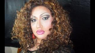Full Drag Makeup Transformation Tutorial