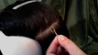 Microlink / Hair Locks Hair Extension Demo