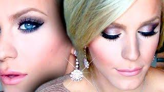 Karolina Kurkova Gold Glitter Smokey Eye Tutorial