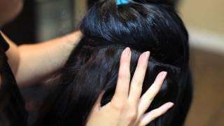 How To Apply Clip In Hair Extensions- Melrose Hair Extensions