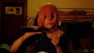 Karuta Roromiya Cosplay Wig Cutting Tutorial
