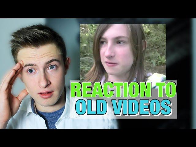 FTM Transgender - REACTION TO OLD VIDEOS