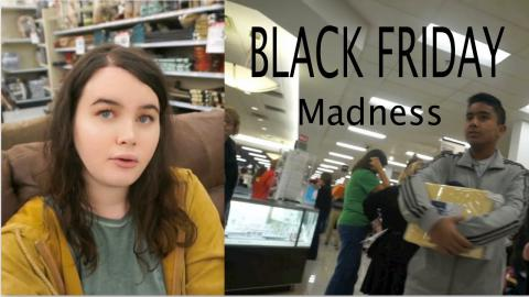 Black Friday Vlog!! Rude Lady and Sketchy Worker At Kohls.. Never Again!!