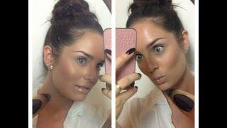Simple Everyday GLOWING&BRONZED Makeup Tutorial