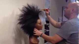 The Sweatshoppe - Spikey Wig Styling Tutorial - Cruella DeVille Version