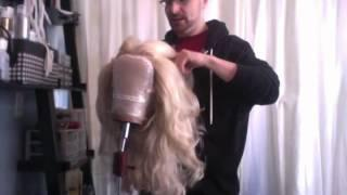 Tutorial - How To Make Over A Ratty Dry Teased Synthetic Drag Wig