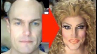 Male To Female Transformation: Drag Make-Up Tutorial