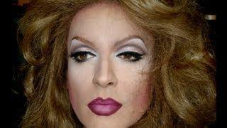 Adele's INSPIRED  Makeup Drag Queen - Transformation From Man To Woman