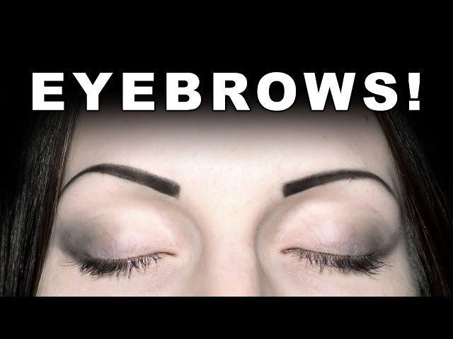 How I Draw My Eyebrows