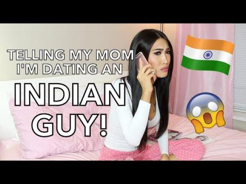 TELLING MY MOM I'M DATING A BROWN GUY!
