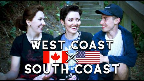 North West Coast VS. South West Coast