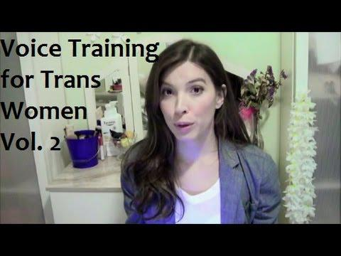 Voice training For Trans Women Vol  2 - Our Trans Journey