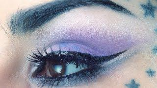 The Shimmery Purple Eyeshadow Makeup Tutorial By Kat Von D | Sephora