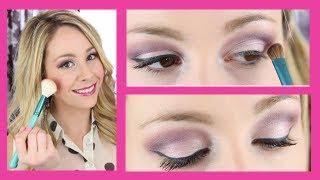 Makeup Tutorial - Soft Pink/Purple Look For Valentine's Day