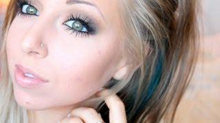 Wearable Fall Smokey Eye | Full Face Makeup Tutorial• Completely Drugstore •