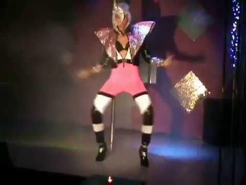 Valentine Vidal performing -Let a boy cry- Gala Drag queen show