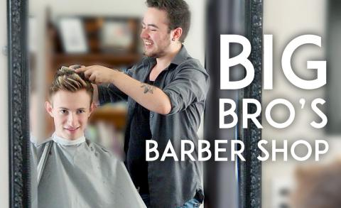 Transgender Barbershop - Big Bro's Barbershop