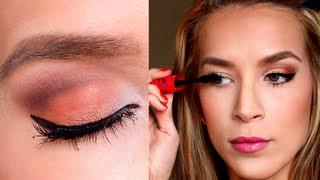 Summer Eye Makeup Tutorial! ORANGE YOU GLAD...