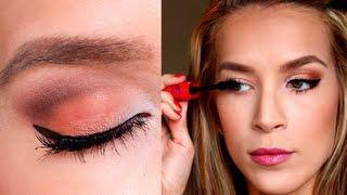 Summer Eye Makeup Tutorial! ORANGE YOU GLAD...