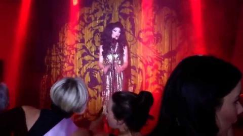 Vanity Von Glow Grease @Proud Cabaret Brighton