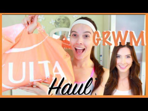 ULTA Haul + GRWM