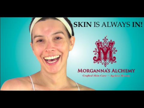 BIGGEST BEAUTY SECRET REVEALED: SKIN CARE W/ MORGANNA'S ALCHEMY | Caroland