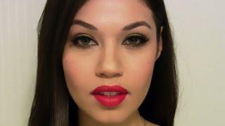 Rihanna Red Carpet Makeup Tutorial