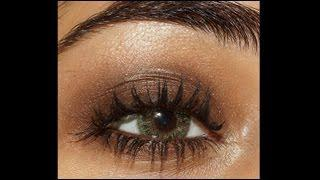 Easy Brown Smokey Eye Makeup Tutorial | Corallista