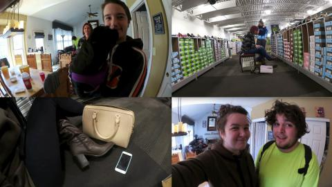 Follow Me Around: Shoe Shopping Craziness + Family!!