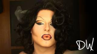 Bright Bold And Beautiful Dramatic Drag Makeup Tutorial