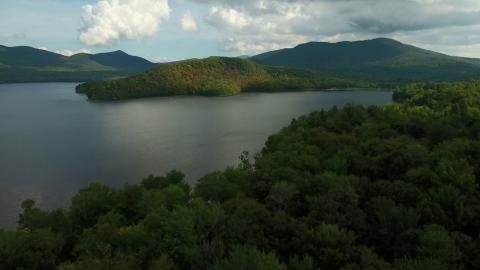 Chittenden Vermont Drone Cinematography