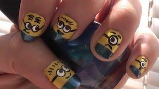 Despicable Me 2 - Minion Nails!!!