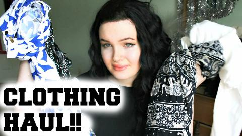 HUGE CLOTHING HAUL! Mean Girls, Patterns and Casual Styles| Raiden Quinn