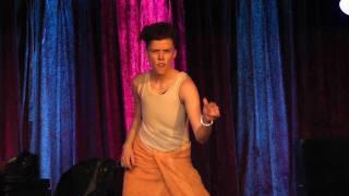 Apocalypstick - Ponyboy Drag King Performance 11/07/10