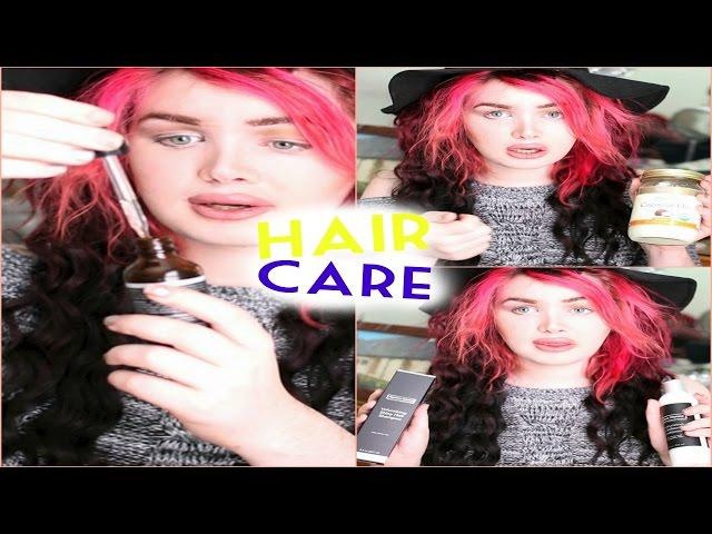 Hair Care! Products I Love for Keeping my Magenta Hair (Post OP Surgery Friendly!)| Raiden Quinn