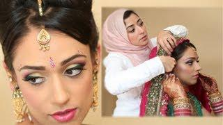 Exotic Asian Bridal Makeup Tutorial Real Bride Transformation
