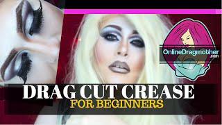 DRAG QUEEN MAKEUP | * Beginners Cutcrease / Eyeshadow Tutorial *