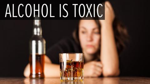 Alcohol is Toxic