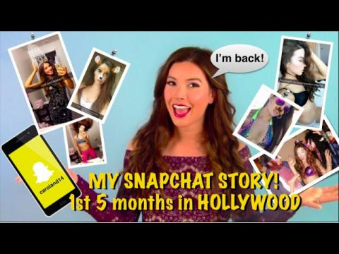 TRANS WOMAN in Hollywood - My Snapchat Story | Caroland