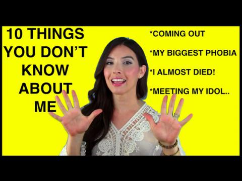 10 THINGS YOU DON'T KNOW ABOUT ME | Caroland