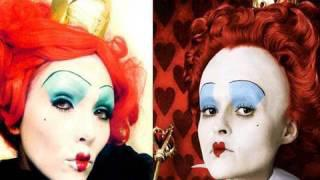 Queen Of Hearts (Alice In Wonderland) Make-up (by Kandee)