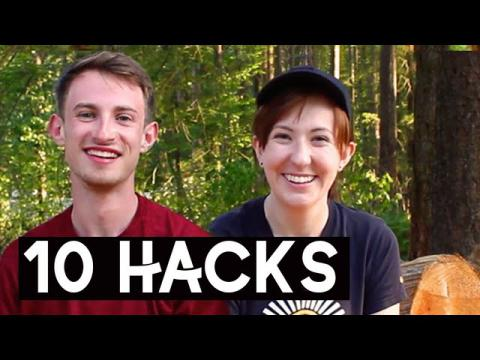 HIKING LIFE HACKS | 10 Tips for Beginner Hikers