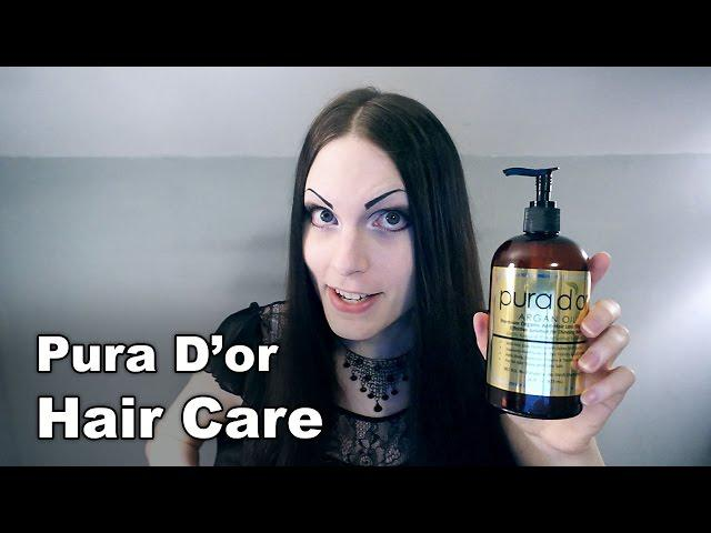 All About My Hair | Pura D'or Hair Care Review