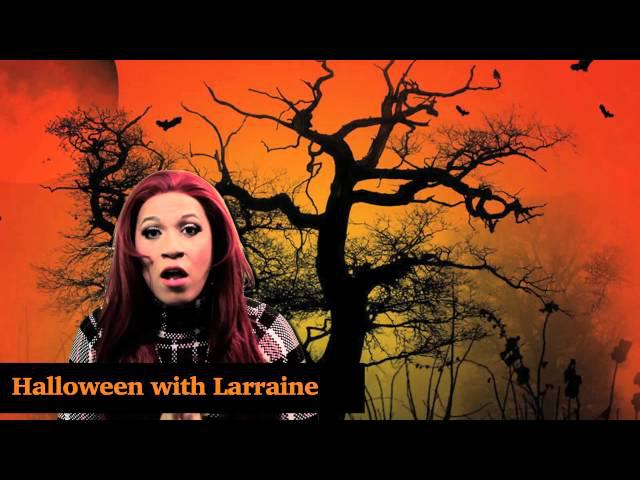 Halloween with Larraine Makeup Tutorial