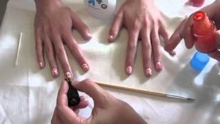 Easy Watercolor Nails