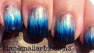 Ombre Dip Dye Nail Art Without A Sponge