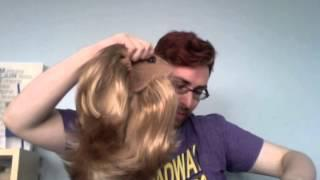 Tutorial - Big Huge Thick Pageant Drag Hair - Synthetic Ponytail Wigs