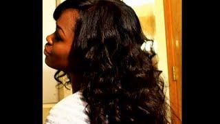Washing, Applying, And Styling RPG Show Glueless Full Lace Wig(PTS004-s) + Update