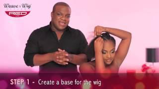 At Home Styling Instruction With Derek J&the Weave&Wig Styler.