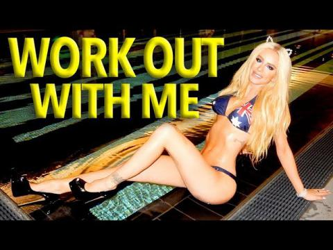 YOU WANT A HOT BODY? My Work Out Routine | Gigi
